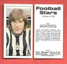 Newcastle United Malcolm Macdonald 4 (BS)